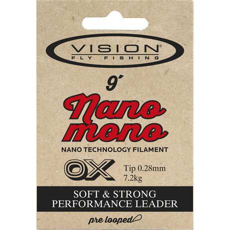 VISION NANO MONO Leaders 6x 0.13mm