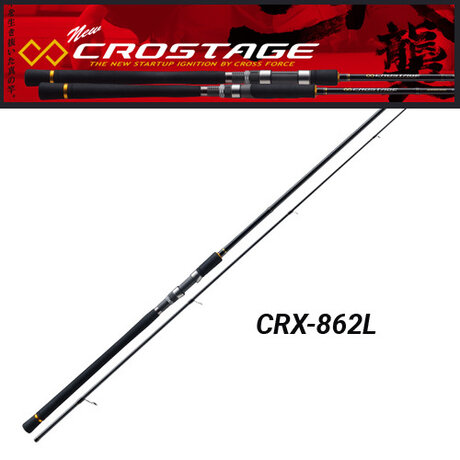 Major Craft NEW CROSTAGE CRX-862L Seabass