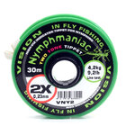 VISION NYMPHMANIAC TWO TONE TIPPET 4X 0.17